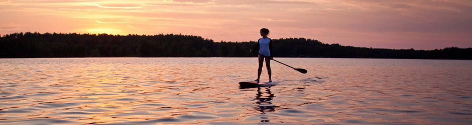 Ny aktivitet: paddleboard