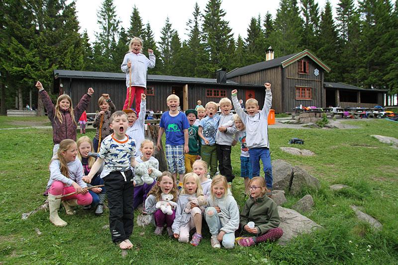 Friluftscamp junior på Vestlia